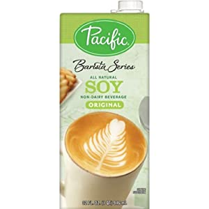 Pacific Natural Foods Barista Series Soy Blenders, Plain, 32-ounce Containers (3-pack)