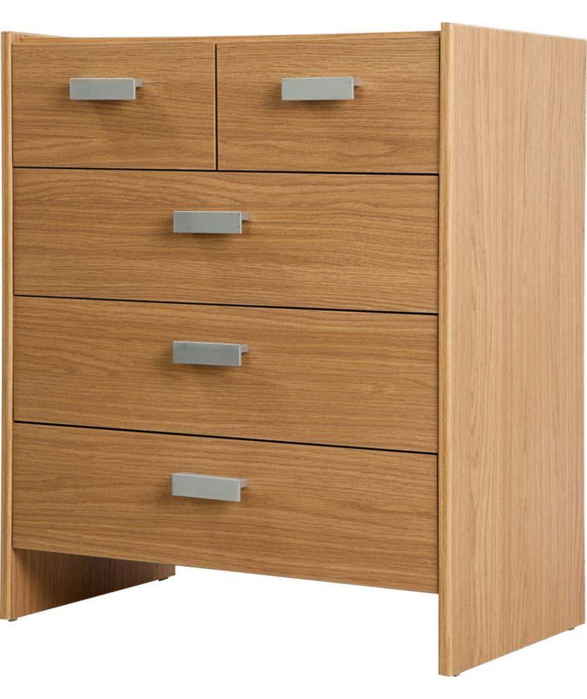 Oak URBNLIVING Wooden Free Standing Storage Cabinet