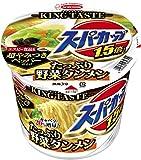 スーパーカップ 1.5倍 たっぷり野菜タンメン 超やみつきペッパー仕上げ(1コ入)