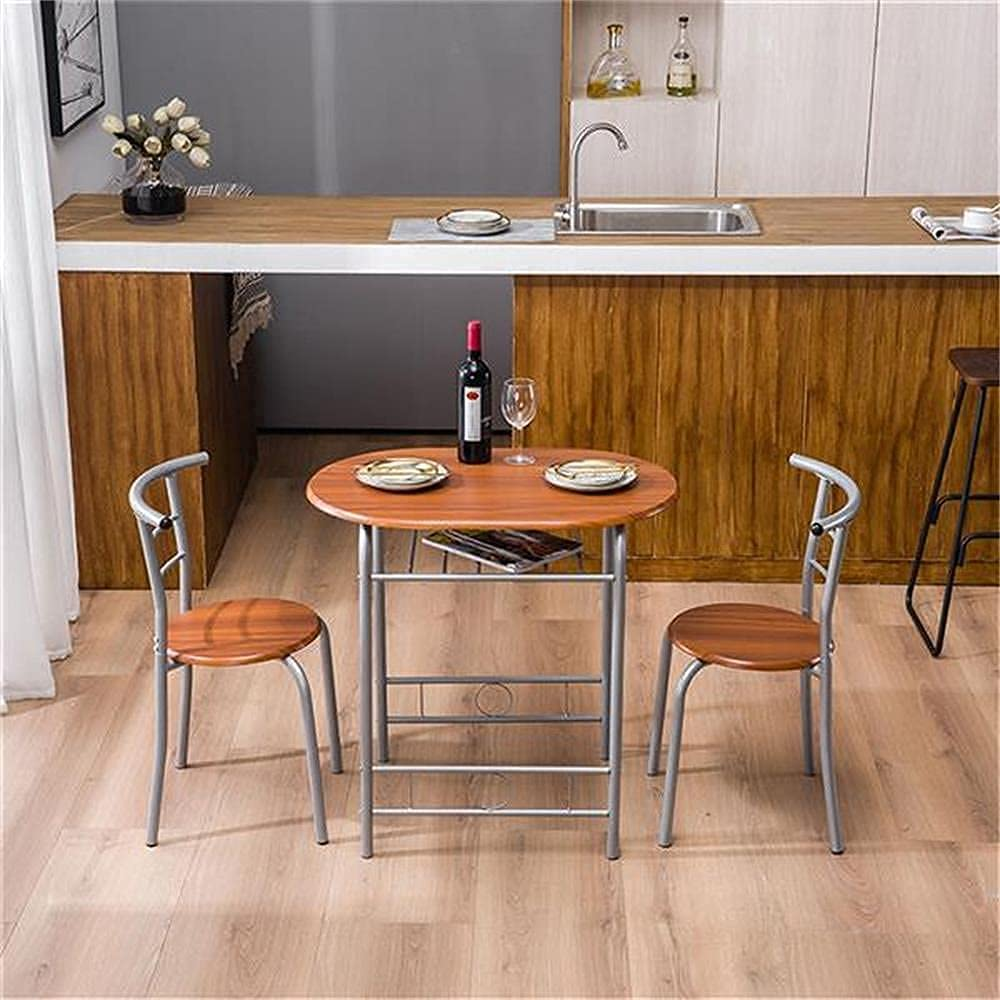 Buy 9 Piece Dining Set Small Dining Table Kitchen Tables One Table ...