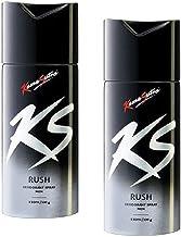 Kama Sutra Deodorant Body Spray for Men, 150 ml - Pack of 2