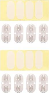 ULTECHNOVO 8Pcs Rodízios Giratórios Rodízios de Plástico para Móveis Rodízios de Caixa de Armazenamento Polia Roda de Rola...