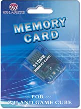 WiCareYo Memory Card 512 MB Large Capacity Game Storage Card Compatible with Wii NGC Gamecube Console Clear Blue