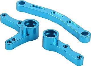 Steering Servo Saver Complete Set, Upgrade Parts, Truck Buggy Car Upgrade Parts,(blue)