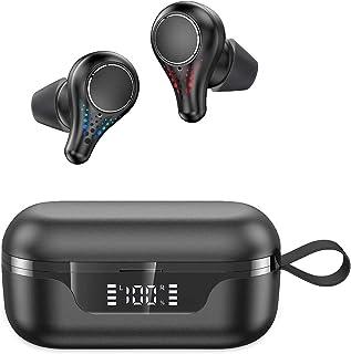$36 » Sponsored Ad - Bluetooth Headphones-True Wireless Earbuds 24 Hours Playtime Earphones TWS Deep Bass Loud Voice Call Waterp...