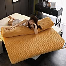Soft Japanese Floor Mattress,Foldable Futon Mattress Topper,Tatami Sleeping Mats for Adults,Foldable Roll Up Japanese Bed,...