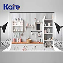 Kate 7×5ft Christmas Backdrops for Photoshoot Christmas Kitchen Photo Backdrops Dining Room Interior Backdrop Decoration Photography Props