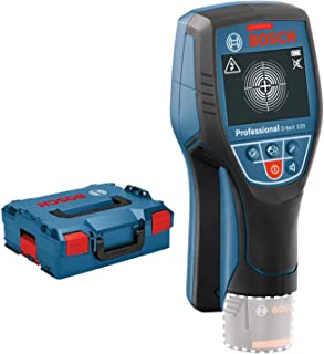 Bosch Professional 12V System Wall Scanner D-tect 120 (without battery, max. detection depth plastic pipes/wooden studs/li...