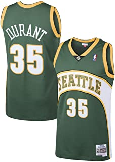 Youth Kevin Durant Seattle Supersonics Green Hardwood Classic Jersey