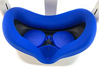 Oculus Quest 2 Silicone Lens Cover + Oculus Quest 2 Face Pad VR Cushion Accessory Set