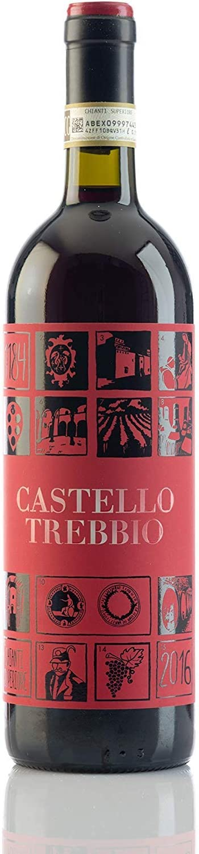 2017 Castello del Trebbio Chianti Superiore DOCG, Tuscany, Italy - 3 BOTELLAS