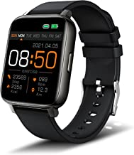 Smart Watch for Men Women, Fitness Tracker 1.69'' Full Touch Screen Smartwatch with Heart Rate Monitor, Sleep Monitor, Sto...
