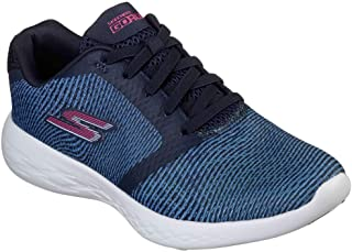 Skechers Women's GOrun 600 Control Cross Training Shoes Navy/Pink