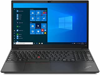 "Lenovo ThinkPad E15 15.6"" Laptop: Intel 10th Gen i7-10510U Quad-Core, 16GB RAM, 512GB NVMe SSD, 15.6"" FHD 1920x1080 IPS Di..."