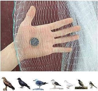 Urisgo Rete Mesh a Maglia Anti-Uccelli 6 10M per Piante riutilizzabili con Rete Anti Uccelli per Piante da Giardino Colture vegetali Frutta