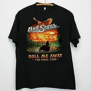 BOB SEGER 2019 FINAL TOUR Detroit Pine Knob DTE Concert T Shirt US