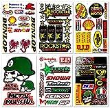 Motorcycles Motocross Extreme Racing Graphics Lot 6 Vinyl Stickers Decals D6066 Best4Buy