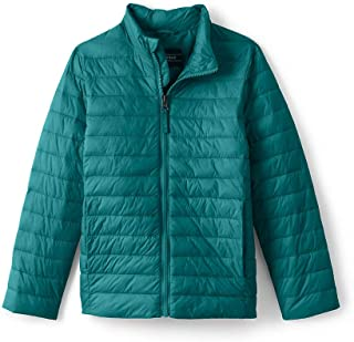 Lands' End School Uniform Little Kids Insulated Down Alternative ThermoPlume Jacket