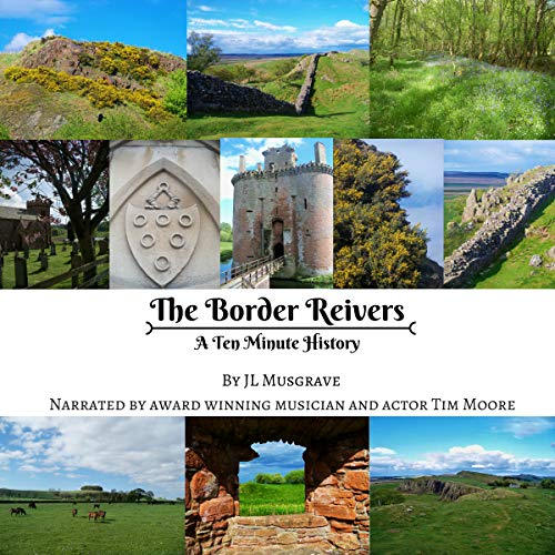 The Border Reivers audiobook cover art