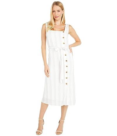 LOST + WANDER Song Of Summer Midi Dress (White Multi) Women