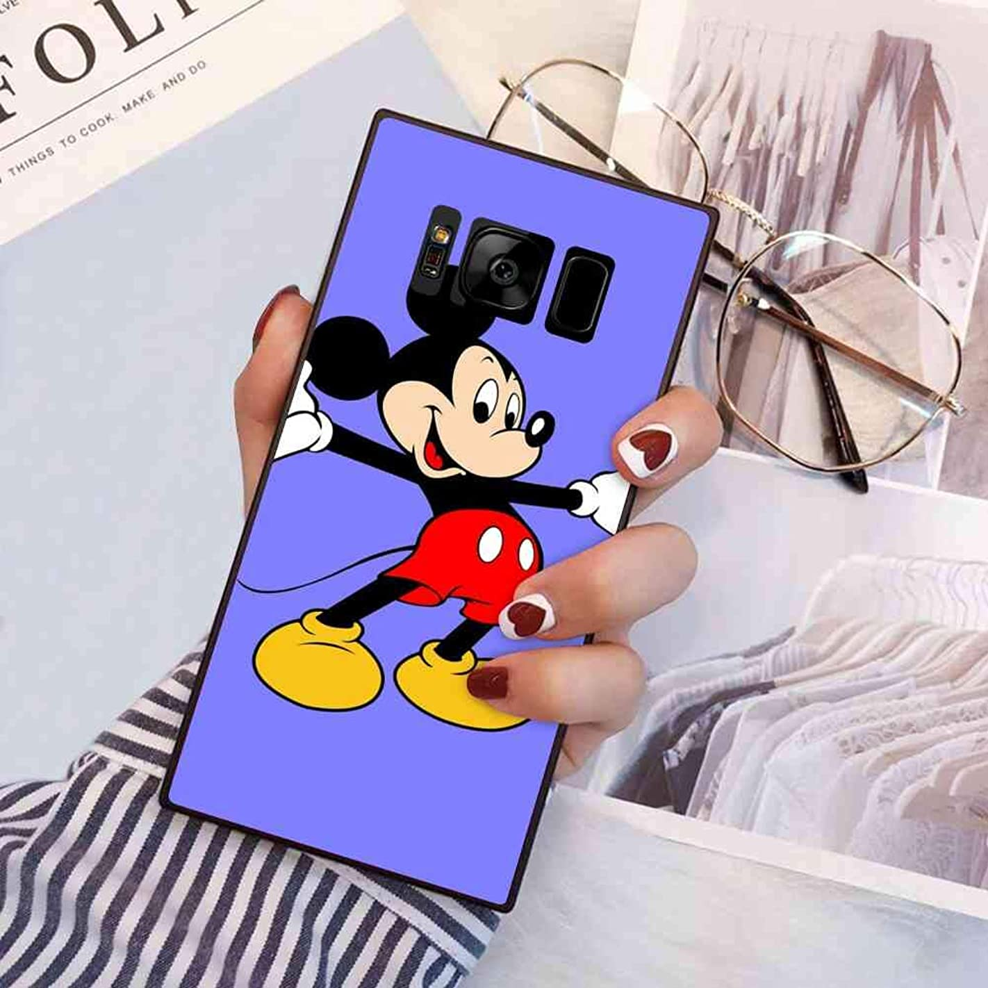 DISNEY COLLECTION Galaxy S8 (5.8 Version) Cartoon Character Film Logo Mickey Mouse Star Tv q92399372832