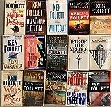 Ken Follett Historical Fiction Novel Collection 15 Book Set