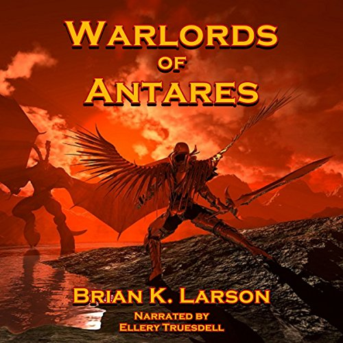 Warlords of Antares audiobook cover art