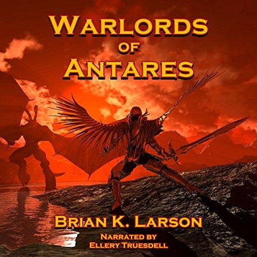 『Warlords of Antares』のカバーアート