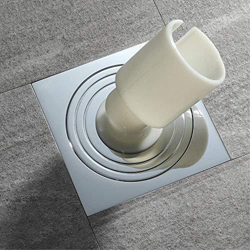 ZXL Pure koper vloer sifon wasmachine badkamer toilet keuken drainage tuin pot deodorant afvoer verwijderbaar (100mm \\ 100mm keer)