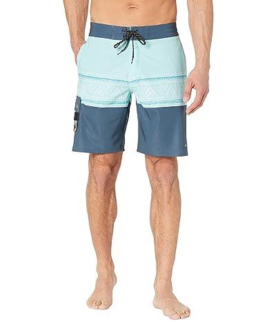 Quiksilver Waterman Angler Stripe Beachshorts 20