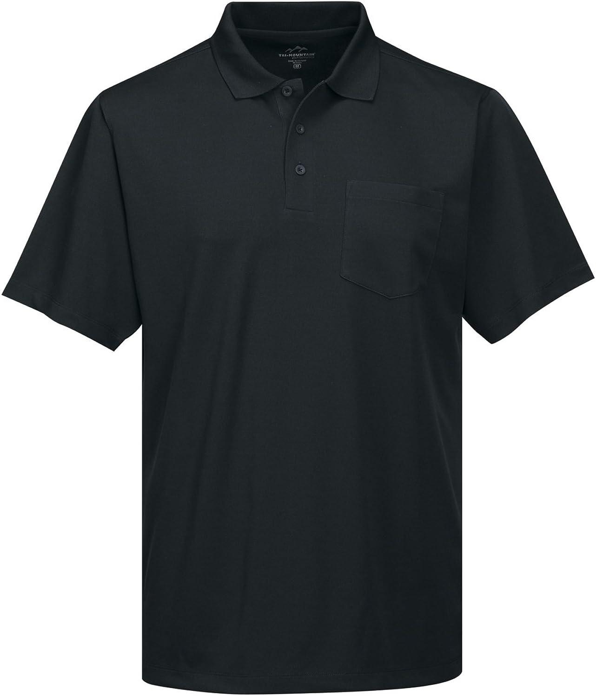 Tri-Mountain Performance Men's K020P Vital Pocket Polo Shirt