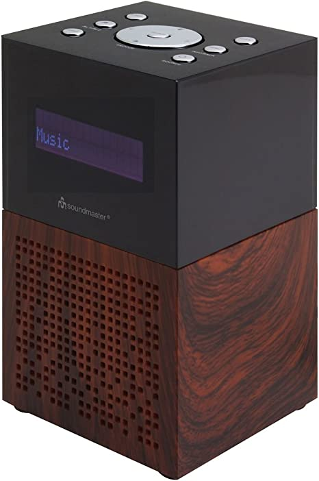 Soundmaster Ur210br Dab Ukw Radiowecker Dualalarm Sleep Elektronik