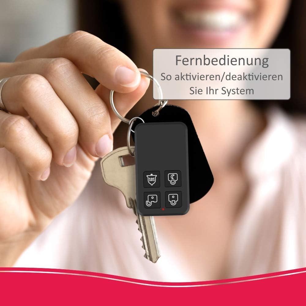 T/ür//Fensterkontakt ELRO AS90MA Sensor de Puerta//Ventana para el Sistema de Alarma Home AS90S