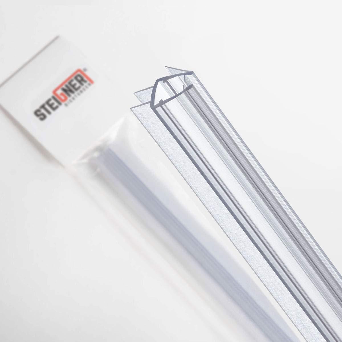 STEIGNER 60 cm Junta Repuesto Para el Vidrio 10mm/11mm Junta Vierteaguas de Ducha, UK20-10: Amazon.es: Bricolaje y herramientas
