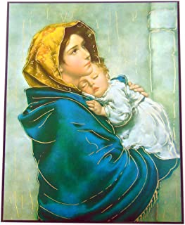 JWG Industries Madonna of The Streets Print On Hardwood Plaque 10 Inch