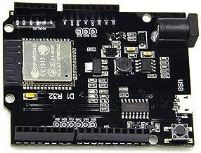 Diymore UNO R3 D1 R32 ESP32 ESP-32 CH340G Development Board Dual-Mode WiFi Bluetooth 4MB Flash DC 5V-12V with Micro USB for Arduino