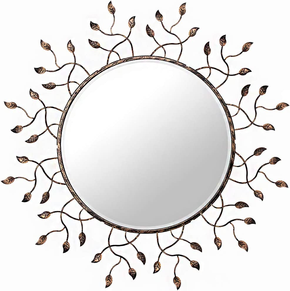 Chende Round Soldering Wall Decorative Mirror for Large Living C New product Room 39