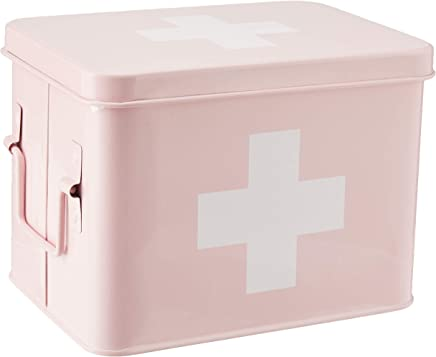 TRUFFULA FOREST - PASTEL PINK FIRST AID BOX