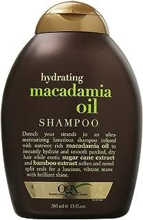 OGX Hydrating Macadamia Oil Shampoo 13 oz (Pack of 2)