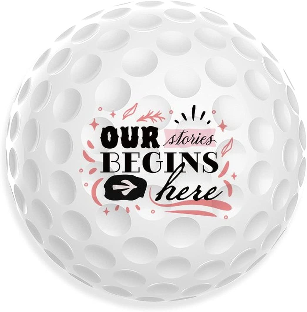 Qadventure Loading Print Golf Balls Fort Worth Mall Limited time for free shipping Funny Recreation Ball Indoo