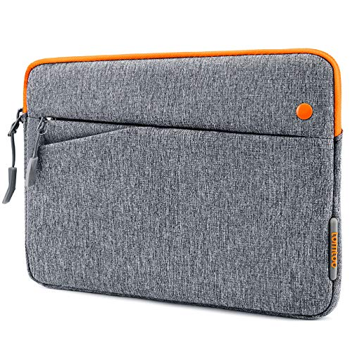 tomtoc 11 inch Tablet Sleeve Bag for 11-inch New iPad Pro, 10.9 inch New iPad Air 4, 10.2-inch iPad, Microsoft Surface Go 2/1, Samsung Galaxy Tab, Fit Magic Keyboard and Smart Keyboard Folio