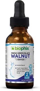 Sponsored Ad - Fresh Green Black Walnut Wormwood Extract 2 oz - Natural Digestive Cleanse | Intestinal Cleansing | Detoxif...