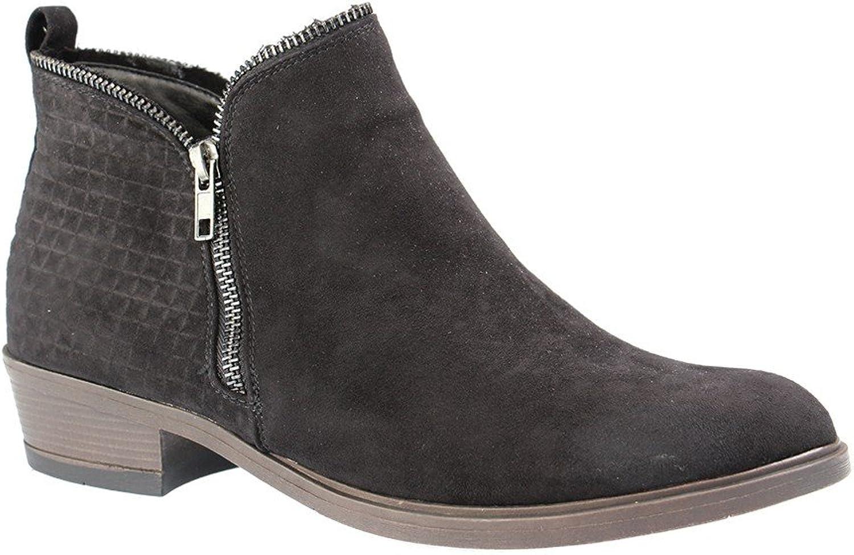 Fitters Footwear Stiefel in übergren Schwarz 2.466002 schwarz MF groe Damenschuhe