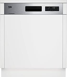 Beko 8 Programs 14 Place settings Built-ın Dıshwasher, Inox - Fingerprint Proof, DSN28420X