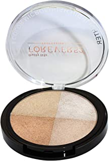 Forever52 4 Color Microfinish Highlighter - FHB002