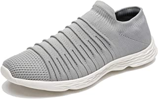 Apan Men's Slip-on Shoes Breathable Mesh Fashion Casual Sneakers(Size 7-15)