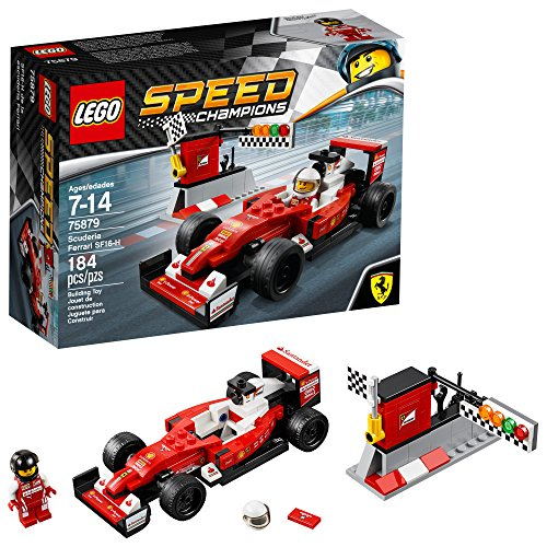 LEGO Speed Champions 6175267 Scuderia Ferrari SF16-H 75879, Multi