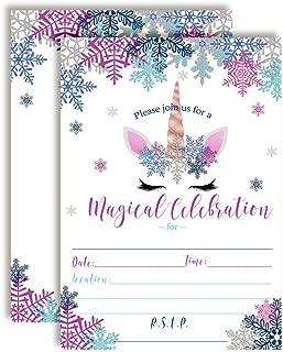 Best winter themed birthday invitations Reviews