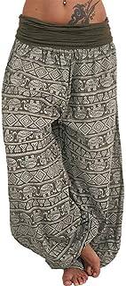 haoricu Womens Harem Yoga Pants Sport Workout Sweatpants Bohemia Style Casual Plus Size Pants …