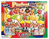 Playfood Set 263398 Kitchen Collection Lebensmittel Set 60 Pieces